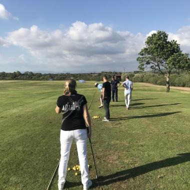 CTM - 2018 Mallorca - Golf Kurs für das Team