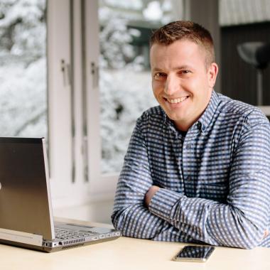 Daniel, Leiter Kundenservice