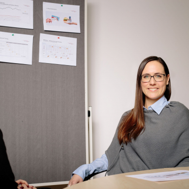 Kathrin, Partner Managerin