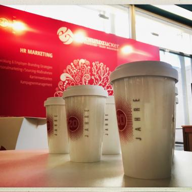 Kaffeebecher für unsere MitarbeiterInnen
