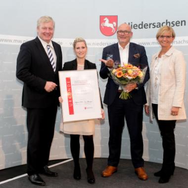Niedersächsischer Wirtschaftspreis f. besondere Unternehmensführung 2018