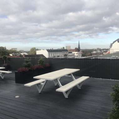 Dachterrasse Hamburg