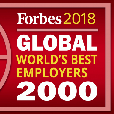 Proud to be one of the 2018 World's Best Employers
