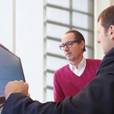 Gemeinsam erarbeiten wir Lösungen für unsere rund 200 Kunden weltweit.