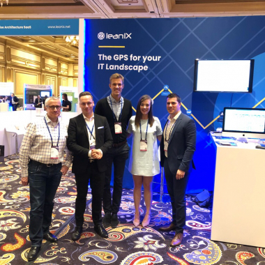 LeanIX Team at TBMC 2018 in Las Vegas - Demonstrating how IT Financial Management can benefit from Enterprise Architecture Transparenc