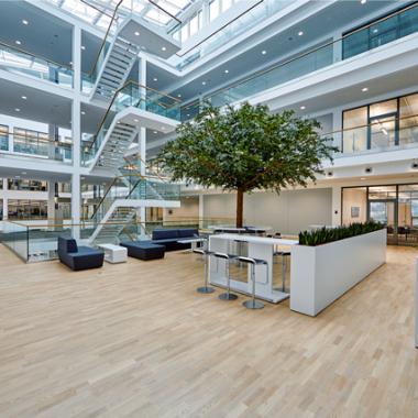 Smartes Gebäude am Standort in Bad Pyrmont