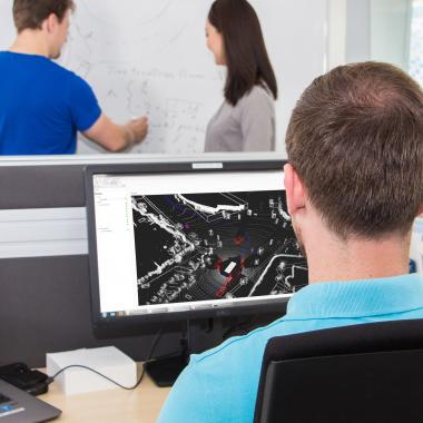 Einblicke in den Arbeitsalltag bei uns - Sicherheitsfunktionen und Sensorkompetenz
