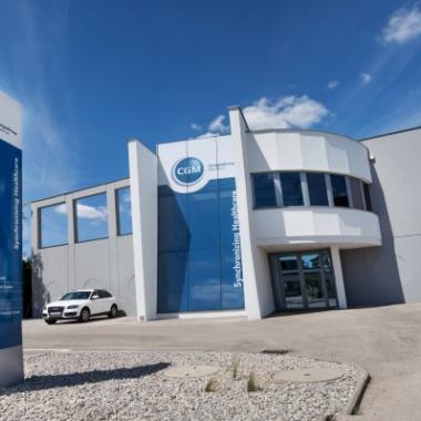 Der CGM-Firmensitz in Wiener Neudorf.