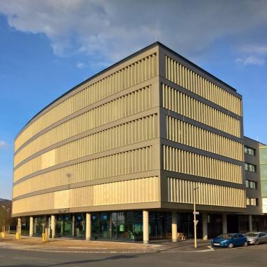 Der CGM-Firmenstandort in Linz.