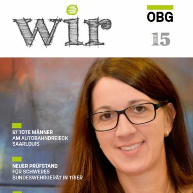 """Die """"WIR"""", unsere Firmenzeitschrift - Ausgabe 15"""