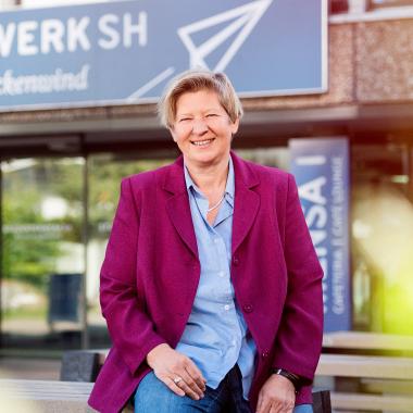 Die Geschäftsführerin des Studentenwerks: Susann Schrader.