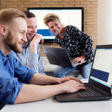 Die IT des Studentenwerks sucht immer wieder Verstärkung, um Technik im Unternehmen auf dem neuesten Stand zu halten.