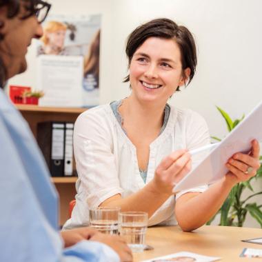 Mit ihren Fragen und Anliegen können sich Studierende auch an die Sozialberatung und die psychologische Beratung des Studentenwerks wenden.