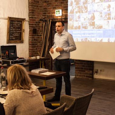 Interner Workshop zur Unternehmensentwicklung