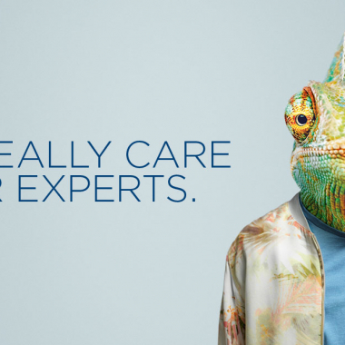 We really care for experts.