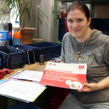 Wir begleiten und motivieren Menschen mit Unterstützungsbedarf im Beruf. Aus- und Fortbildung für Werkstatträte und Frauenbeauftragte (Foto).