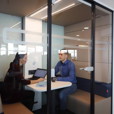 Meeting-Boxen für ungestörtes Arbeiten
