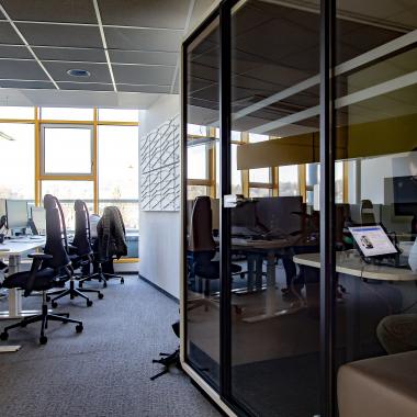 Open-Space Büro in Linz