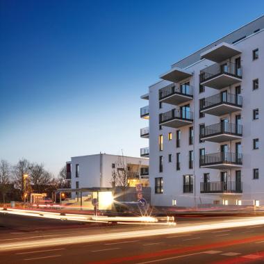 Neubauprojekt Finkennest in Freising (DE).