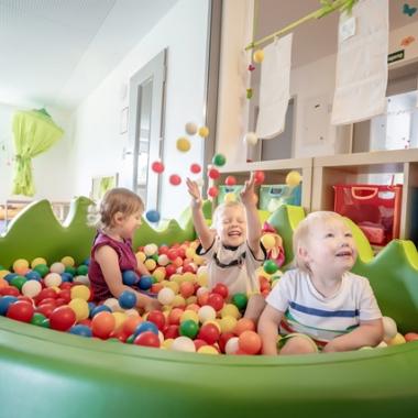 """Unsere Kleinsten werden im """"Conrad Kinderhaus"""" professionell und liebevoll betreut"""