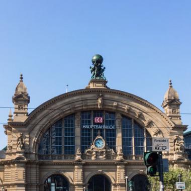 Unser Büro liegt direkt am Frankfurter Hauptbahnhof