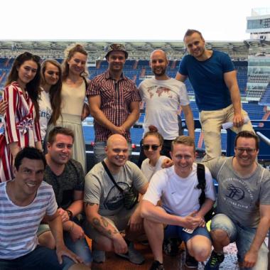 Gemeinsamer Ausflug zu Real Madrid