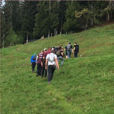Team Week Wanderung