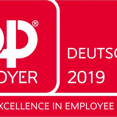 """Bereits zum 13. Mal in Folge hat die MTU Aero Engines 2019 die begehrte Auszeichnung als """"Top Employer Deutschlands"""" erhalten."""