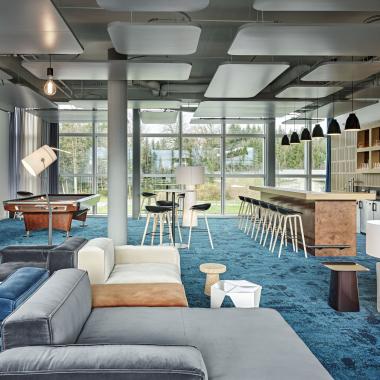 Lounge im OpaccCampus