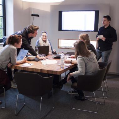 Im Team entstehen die besten Ideen und Konzepte!