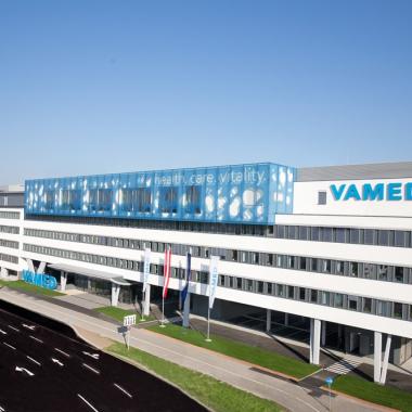 Das VAMED-Headquarter im 23. Wiener Gemeindebezirk.