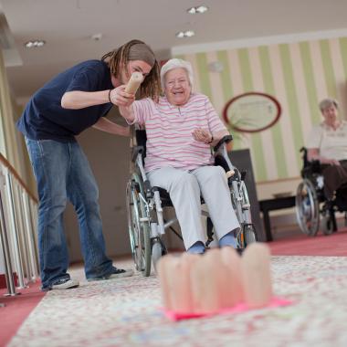 Freude & Spaß gehören zum Leben in unseren Häusern dazu.