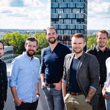 Ausblick über die City für unsere Münchner Kollegen