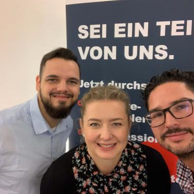 """OSP vor Ort bei der Jobmesse """"Karrierewege"""" an der HTW Dresden"""