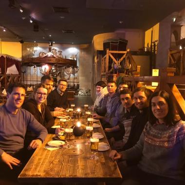 Welcome Week: Die Kollegen vom neuen OSP Standort in Madrid zu Besuch in Dresden.