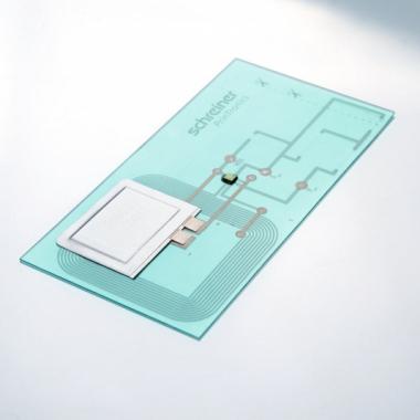 Gedruckte Elektronik ermöglicht z. B. einen Manipulationsnachweis per Smartphone.