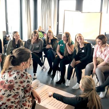 Team Workshop in den Design Offices Hamburg