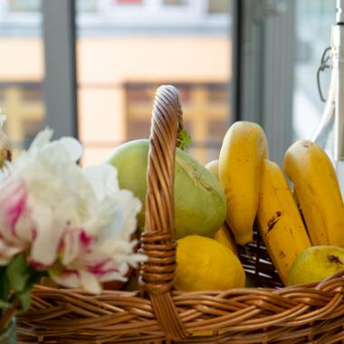 Frisches Bio-Obst jeden Morgen