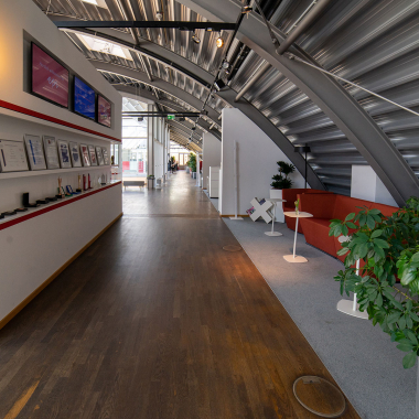 Zentralpunkt im Office
