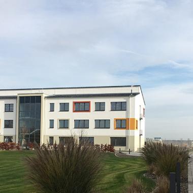 Neuer Bürokomplex in Grafenrheinfeld mit einer Platzkapazität für 100 Mitarbeiter