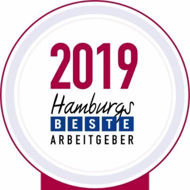 Auszeichnung: Hamburgs Beste Arbeitgeber 2019