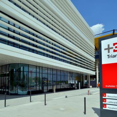 Unser Hauptsitz in Aachen, Krefelder Str. 203.