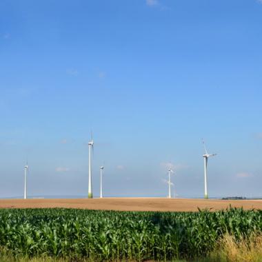 Windpark in Bayern der Trianel Erneuerbare Energien
