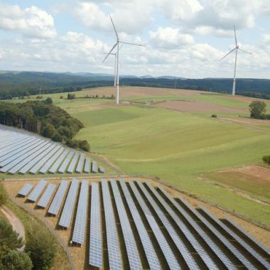 Solarpark Südwestpfalz der Trianel Erneuerbare Energien
