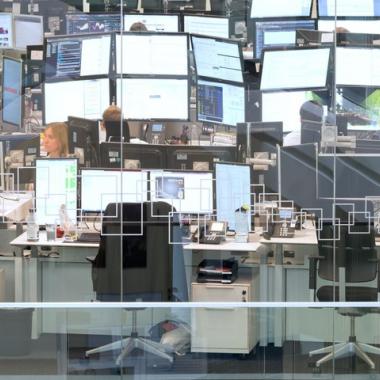 Unser Trading-Floor bietet etwa 100 spannende Arbeitsplätze rund um das Themenfeld Handel und Beschaffung.