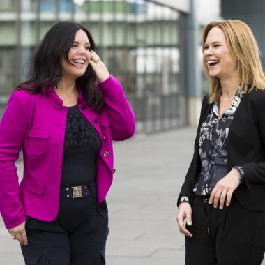 CEO Regina Volz und Teamleiterin Recruiting Jana Schmidt