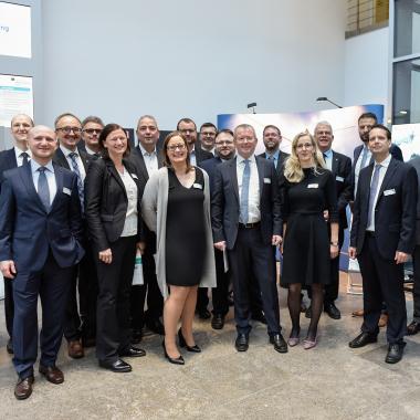 Einige unserer Kollegen und Kolleginnen auf der Governikus Jahrestagung 2017 in Berlin.