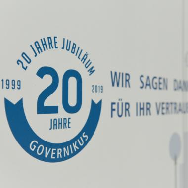 Wir feiern 20-jähriges Jubiläum bei der Governikus KG und sagen danke für das Vertrauen!