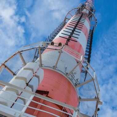 Die Spitze des Turmes