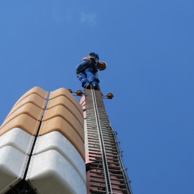 Fernsehturm Lübbeck: Arbeiten von ganz oben